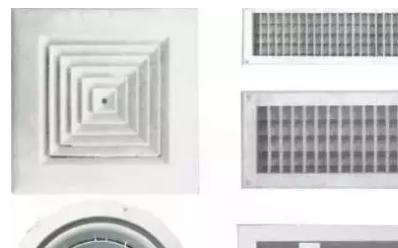 简单明了—中央空调风口的材质、安装及注意事项