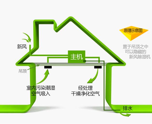 安装一个新风除湿机对家居环境有哪些好处?-上海空气新风展 AIRVENTEC CHINA 2022.6.8-10新风系统 通风设备 空气净化